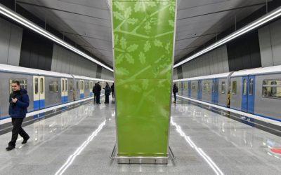 Запущено пассажирское движение на участке Калининско-Солнцевской ветки метро от станции «Парк Победы» до станции «Раменки»