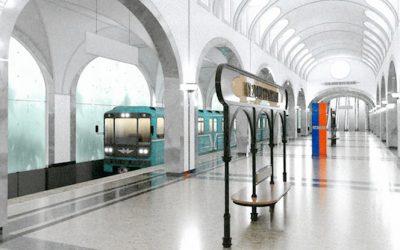 На станции метро «Селигерская» Московского метрополитена начался монтаж эскалаторов
