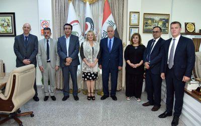 Официальный визит руководства АО «ВО «Машиноимпорт» в Республику Ирак