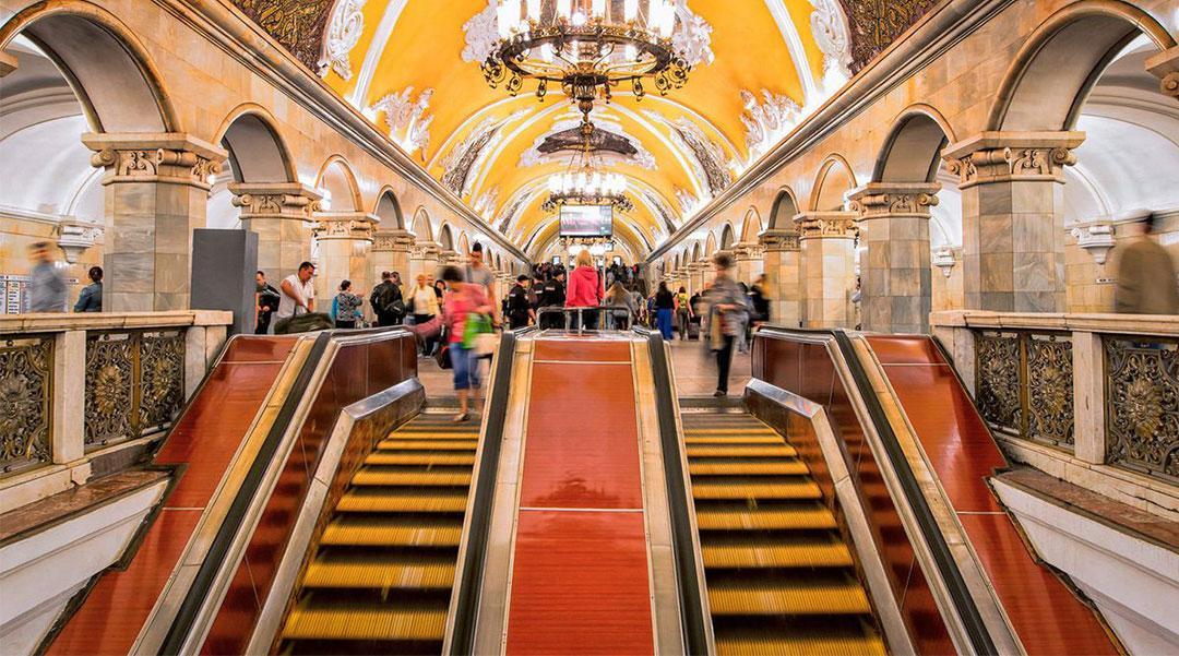 АО «ВО «Машиноимпорт»:  Станция «Комсомольская» Московского метрополитена получит новые эскалаторы